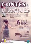 Spectacle Contes et Musiques 6 décembre 2014